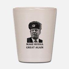 Make Russia Great Again Shot Glass