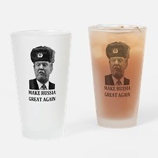 Make Russia Great Again Drinking Glass