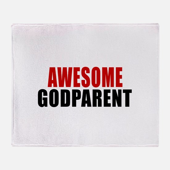 Awesome Godparent Throw Blanket