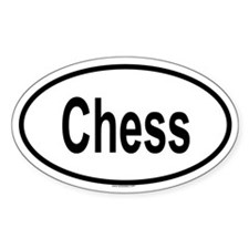 CHESS Oval Decal