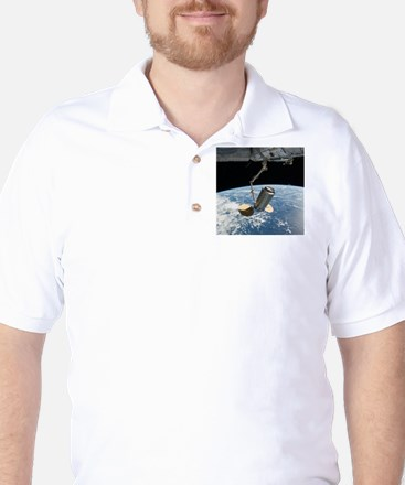 Cygnus cargo spacecraft Golf Shirt