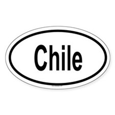 CHILE Oval Decal