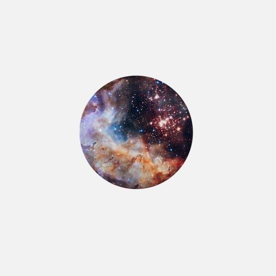 Cute Nebulae Mini Button