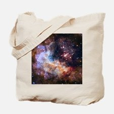 Cute Hubble space telescope Tote Bag