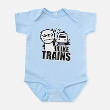 I Like Trains! Body Suit