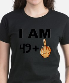 Middle Finger 50th Birthday T-Shirt