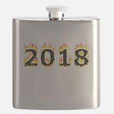 2018 (Flames) Flask