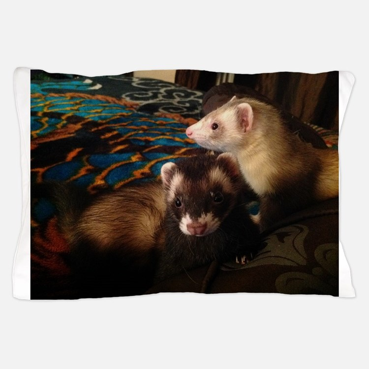 Adorable Ferrets Pillow Case
