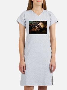 Adorable Ferrets Women's Nightshirt