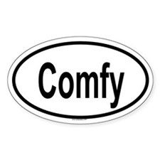 COMFY Oval Decal