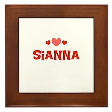 Sianna Framed Tile