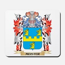 Meister Coat of Arms - Family Crest Mousepad