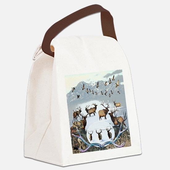Wildlife from the north Canvas Lunch Bag