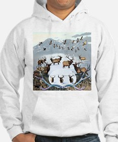 Wildlife from the north Hoodie