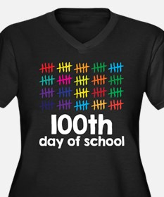 100th Day of School Plus Size T-Shirt