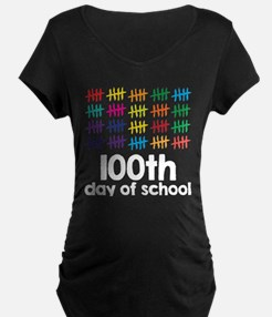 100th Day of School Maternity T-Shirt