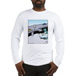 Dinosaur Food Exit Long Sleeve T-Shirt