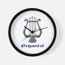 Organist Wall Clock