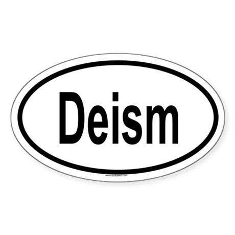 DEISM Oval Sticker