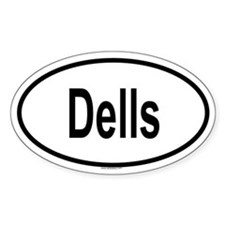 DELLS Oval Decal