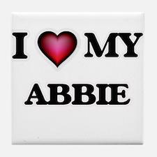 I love my Abbie Tile Coaster
