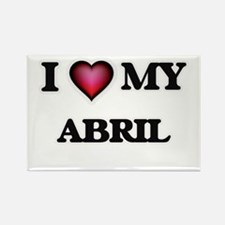 I love my Abril Magnets