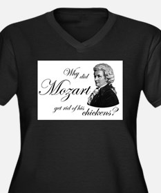 Mozart's Chickens Plus Size T-Shirt