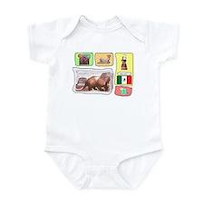 Mexico t-shirt shop Infant Bodysuit
