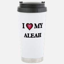 I love my Aleah Stainless Steel Travel Mug