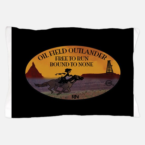 OILFIELD OUTLANDER Pillow Case
