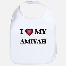 I love my Amiyah Baby Bib