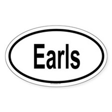 EARLS Oval Decal