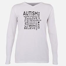 Autism Word Cloud T-Shirt