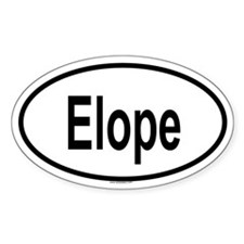 ELOPE Oval Decal