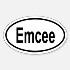 EMCEE Oval Decal