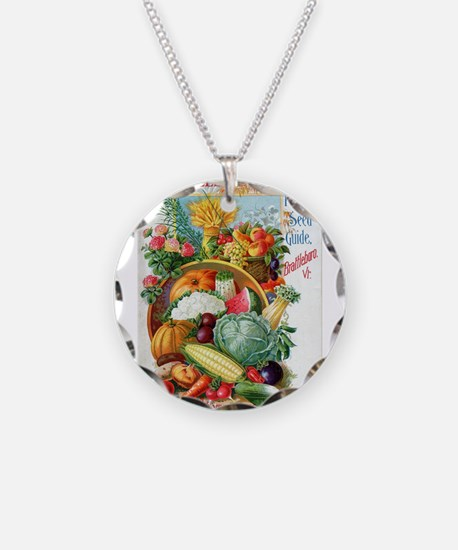 1898 Plant and Seed Guide Necklace