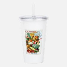 1898 Plant and Seed Gu Acrylic Double-wall Tumbler