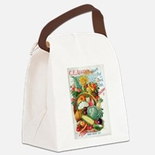 1898 Plant and Seed Guide Canvas Lunch Bag