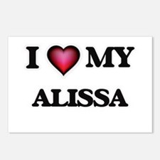 I love my Alissa Postcards (Package of 8)