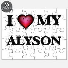 I love my Alyson Puzzle