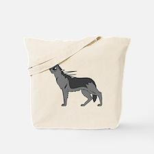 Dog-like Chupacabra Tote Bag