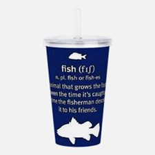 Definition of Fish Acrylic Double-wall Tumbler