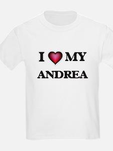 I love my Andrea T-Shirt