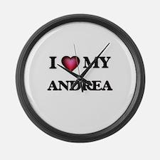 I love my Andrea Large Wall Clock
