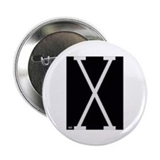 "Malcolm X 2.25"" Button"