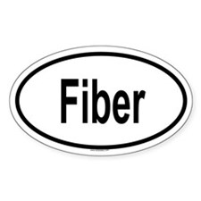 FIBER Oval Decal