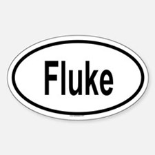 FLUKE Oval Decal
