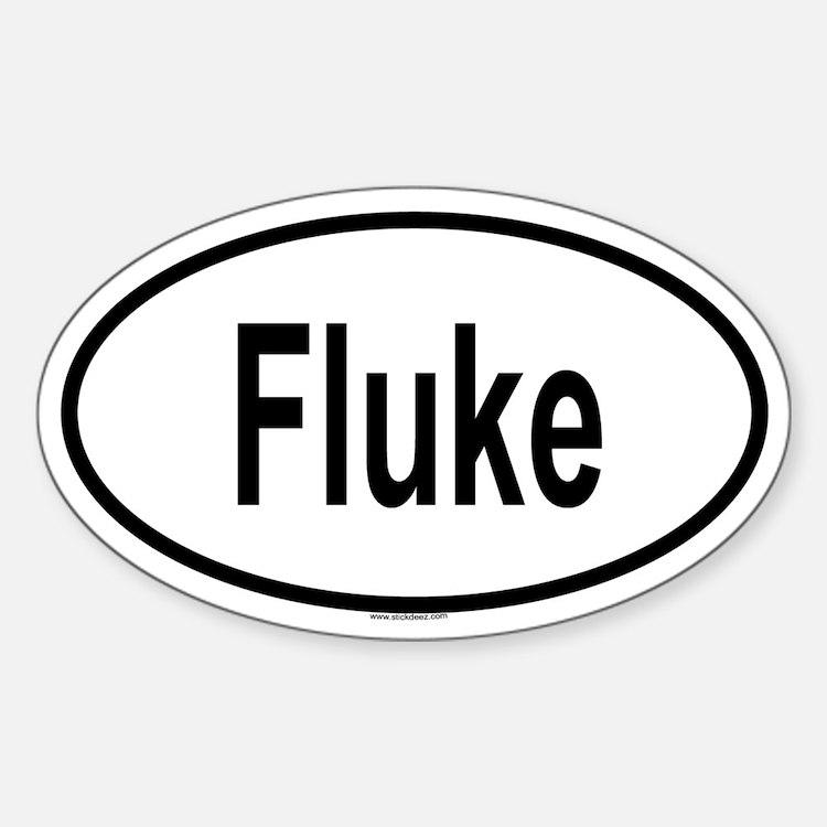 FLUKE Oval Decal