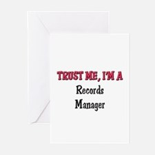 Trust Me I'm a Records Manager Greeting Cards (Pk