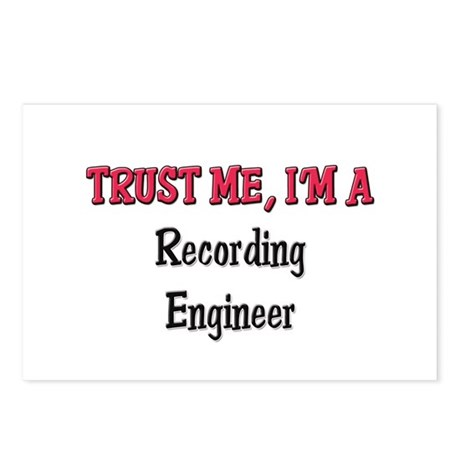 Trust Me I'm a Recording Engineer Postcards (Packa